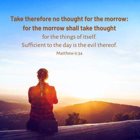 Bible Study—Matthew 6:34