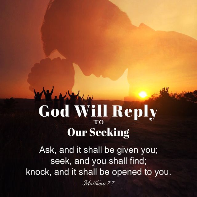 God Will Reply To Our Seeking