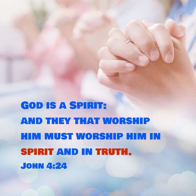 Bible Study—John 4:24