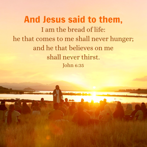 Bible Study—John 6:35