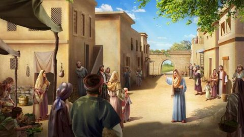 Question: How did the Samaritan woman recognize that the Lord Jesus was the coming Messiah?